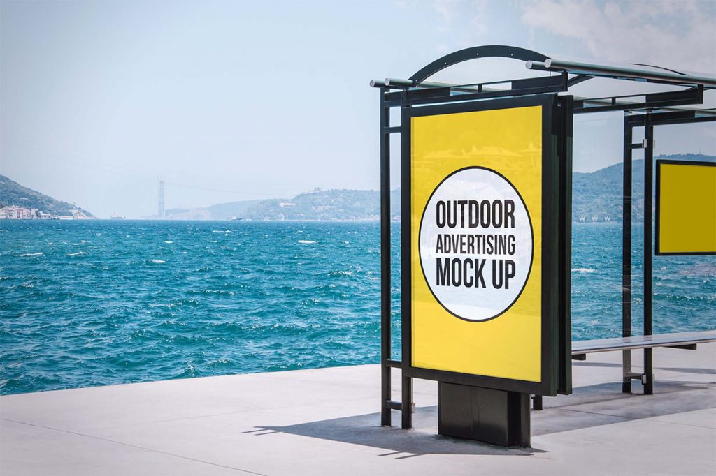 outdoor advertising stages