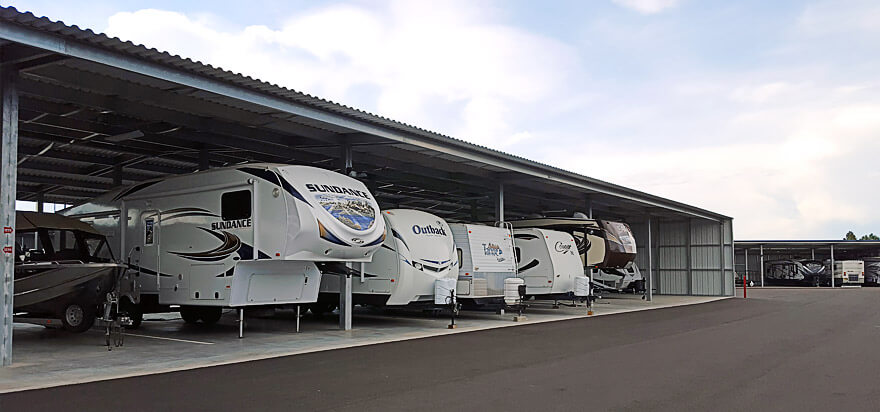 Why You Should Store Your RV In A Web Storage Facility