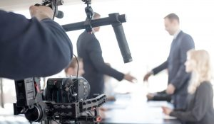 corporate video production