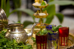 Moroccan tea glasses - A culture in Morocco