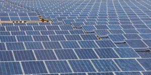 Solar panels from abov
