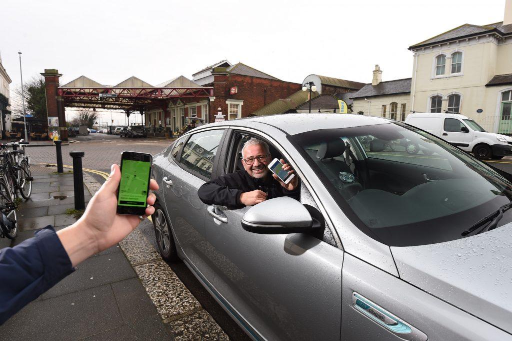 Uber car hire