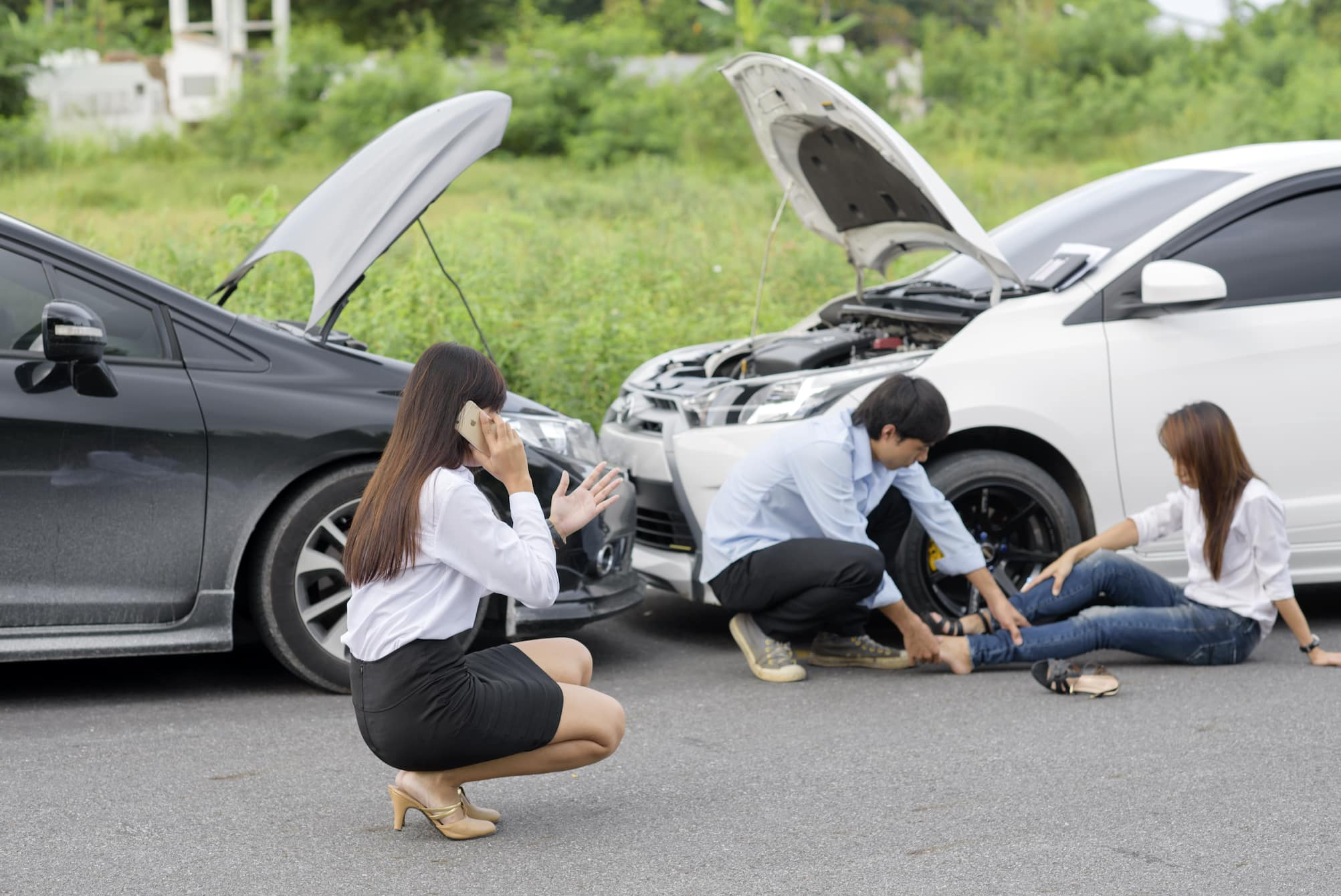 Injured in a Road Crash When Traveling by Uber: A Case Study