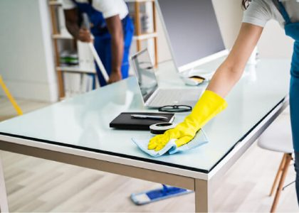 How necessary is to keep office premises clean?