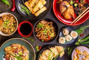Asian takeaway in Melbourne
