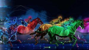 Digital Horse racing game