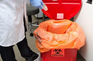 Improper disposal of biohazardous waste can cost businesses millions. Find out what the law says about disposal of such waste.